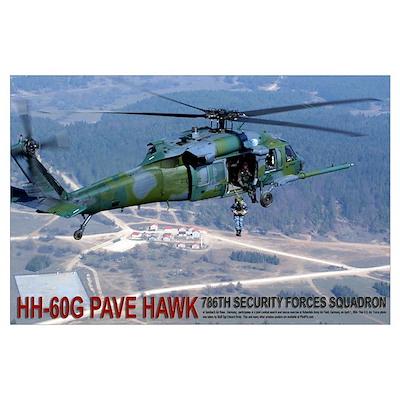 "35"" x 23"" HH-60G PAVE HAWK Poster"