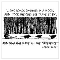 The Road Less Traveled Sled D Poster