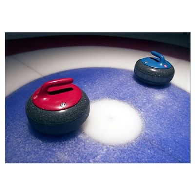 Curling Stones Poster