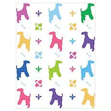 Lakeland Terrier Designer Poster