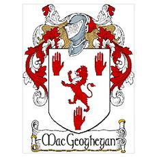 MacGeoghegan Arms Poster