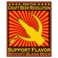 Craft Beer Revolution Canvas Art