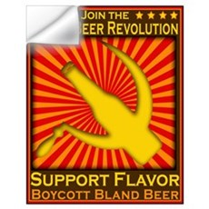 Craft Beer Revolution Wall Decal
