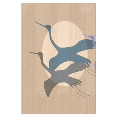 Whooping Crane Canvas Art