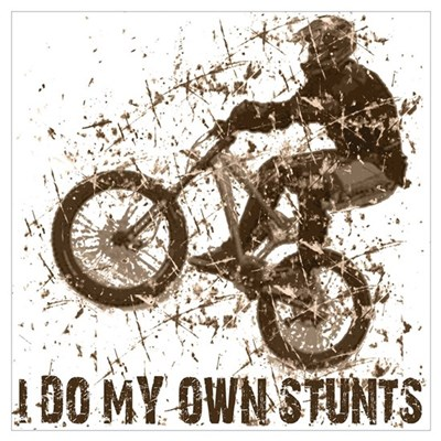 Mountain Bike, BMX - Stunts Poster