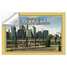 Heights Promenade Nostalgic Wall Decal
