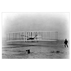 Wright Brothers First Flight Framed Print