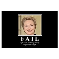 Hillary FAIL Poster