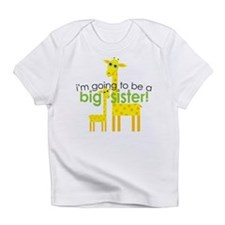 Big Sister To Be Giraffes Infant T-Shirt