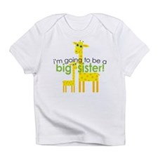 Big Sister To Be Giraffes Infant T-Shirt