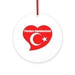 Turkey Ornament (Round)