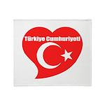 Turkey Throw Blanket