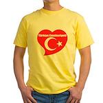 Turkey Yellow T-Shirt