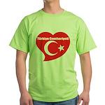 Turkey Green T-Shirt