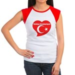 Turkey Women's Cap Sleeve T-Shirt