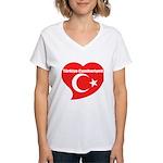 Turkey Women's V-Neck T-Shirt