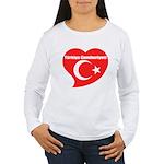 Turkey Women's Long Sleeve T-Shirt