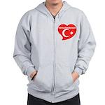 Turkey Zip Hoodie