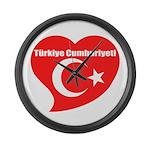 Turkey Large Wall Clock