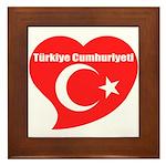 Turkey Framed Tile