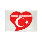 Turkey Rectangle Magnet (100 pack)