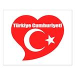 Turkey Small Poster