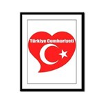 Turkey Framed Panel Print