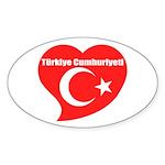 Turkey Sticker (Oval 10 pk)