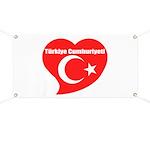 Turkey Banner