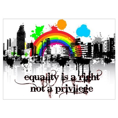 Equality is a right! Poster