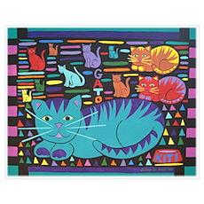 Cat 'n Gato Poster
