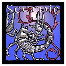 Scorpio Logo Poster