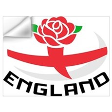 Rugby England Rose Wall Decal