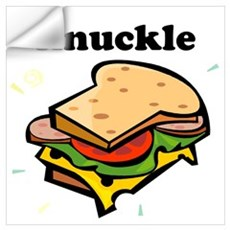 Knuckle Sandwich Wall Decal