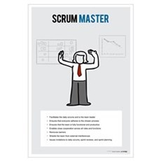 ScrumMaster Activities (Female) Canvas Art