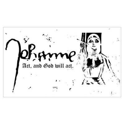 Joan of Arc (...God will act. Poster