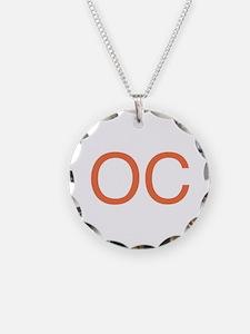Orange O C Necklace