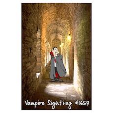 """""""Vampire Sighting"""" Poster"""