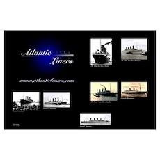 Atlantic Liners Poster