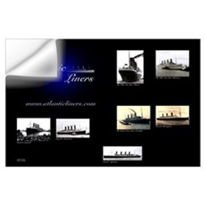 Atlantic Liners Wall Decal