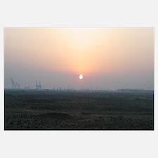 Sunrise Over Umm Qasr's Port