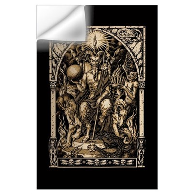 Satan Enthroned 11x17 Print Wall Decal