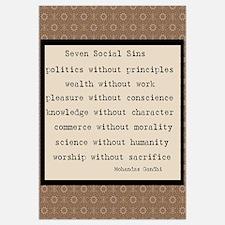 Seven Social Sins