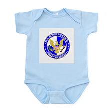 Border Security US Border Pat Infant Creeper