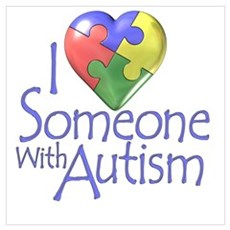 Someone with Autism Poster