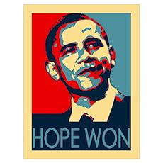 Obama Hope Won Poster