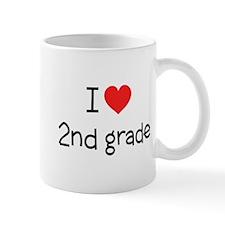 I Love 2nd Grade: Mug