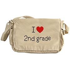 I Love 2nd Grade: Messenger Bag