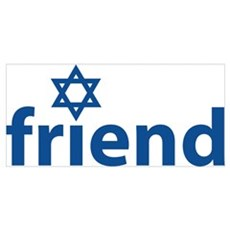 Friend of Israel Poster