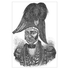 Emperor Jacques I of Haiti Framed Print
